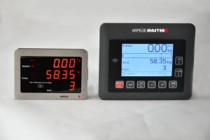 WEIGHING SCALE FOR CHECK-IN – BAG2R - WEIGHT INDICATOR WITH ETHERNET FOR BAGGAGES