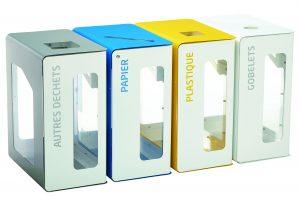 CUBATRI  - Modular Recycling Bins