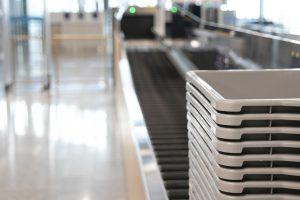 Led Future Hand Luggage Tray Disinfection System