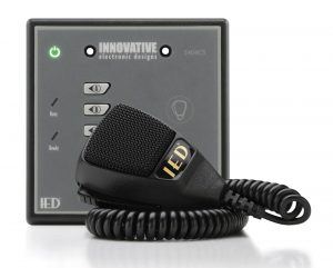 4 BUTTON DIGITAL MICROPHONE STATION