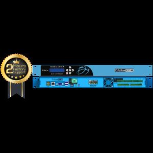 GLOBALCOM® IP116-D-CS ANNOUNCEMENT CONTROL SYSTEM WITH 16 DANTE™ MESSAGE CHANNELS