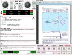 ATC Tower Flight Data & Airport Meteorological Data Display Systems