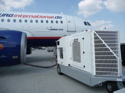Aircraft air conditioners air conditioner guided for Ground air conditioner