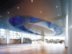 Airport Ceiling Design I Acoustic Metal Wall & Ceiling Systems / Suspended Ceiling Systems
