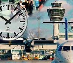 Airport Clocks and Time Distribution Systems