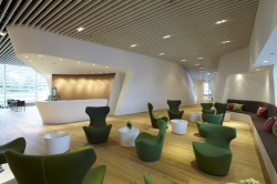 Airport Perforated Metal Ceilings / Raised Floors & Facades / Wall Claddings / Airline Lounges