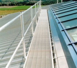 Airport Roof Access Walkways, General Access Walkways and Handrails