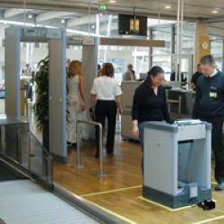 Airport Walk-Through Metal Detectors