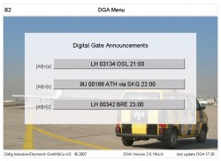 Automatic Announcement Systems for Airports