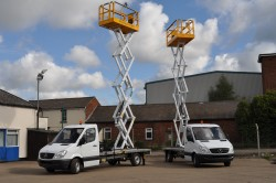Aviation Access Platforms / Aircraft Scissor Lift / Vehicle Mounted Scissor Lift / Cherry Pickers
