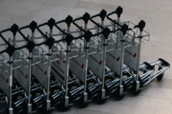 Baggage Trolley's