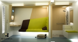 BreakBox® - Airport Terminal Sleeping Modules - Relaxing Cabins for Transit Areas