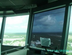 Anti-Glare Roller Blinds For Air Traffic Control Towers