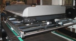 Continuous Vertical Conveyor (CVC) for Out of Gage (OOG) Baggage
