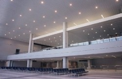 Airport Metal Ceiling Systems And Design Dampa