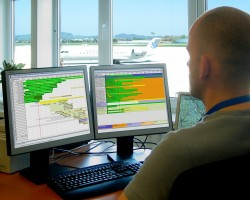 Flight schedules, Personnel shift and Equipment planning and Dispatching Loading teams
