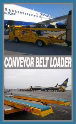 GSE: Conveyor Belt Loader/Toilet Service Unit/Potable Water Unit/Passenger Stairs
