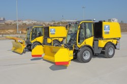 Multipurpose Implement Carriers for Cleaning, Maintenance & Winter Services at Airports