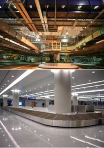 Pteris Global has supplied baggage handling systems to Shanghai Pudong International Airport.