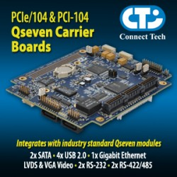 Qseven Carrier Boards
