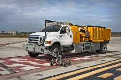 Runway Rubber Removal and Pavement Marking Removal